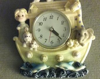 "Decorative Children's Room Ceramic Quartz Wall Clock 8"" x 8"" Made In China"