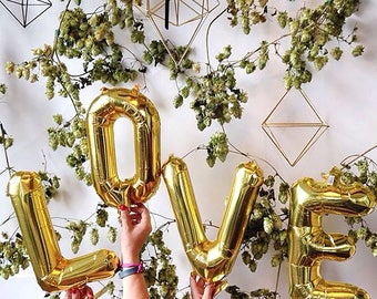 """LOVE Letter Balloons 