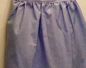 Size 4T Sky Blue Polka Dot Dress