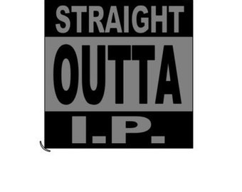 Straight Outta IP - Appliance Decal