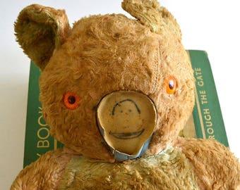 vintage teddy bear stuffed bear toy bear goth bear steampunk