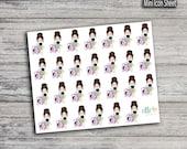 Laundry Girl Stickers (Glossy & Matte)