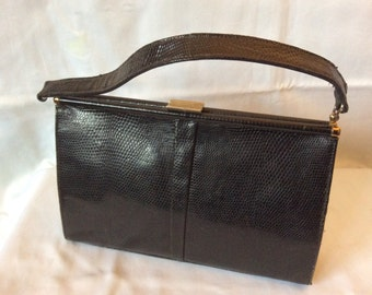 1950s skin Kelly bag