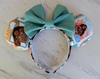 Moana Minnie Ears