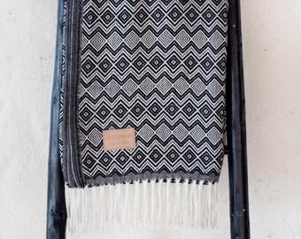 Alpaca Wool Blanket - INK