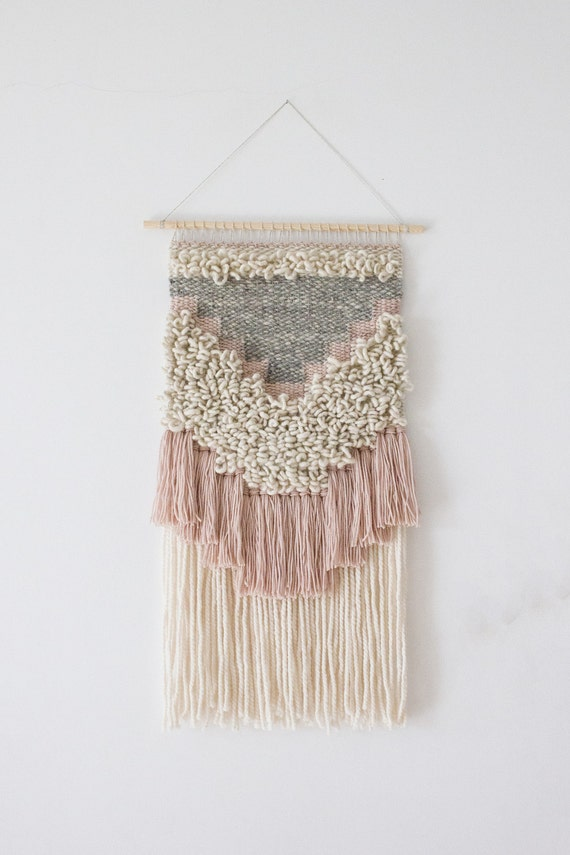 Woven Wall Hanging Woven Wall Weaving Woven Tapestry Wall