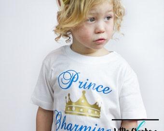 Prince charming shirt   Prince shirt   Prince t shirt   Cute boy shirt   Kids shirts   Boy coming home outfit   Boy clothes   Toddler shirts