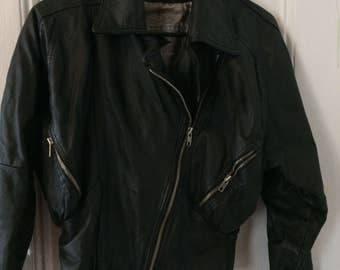 80s Vintage Leather Jacket.