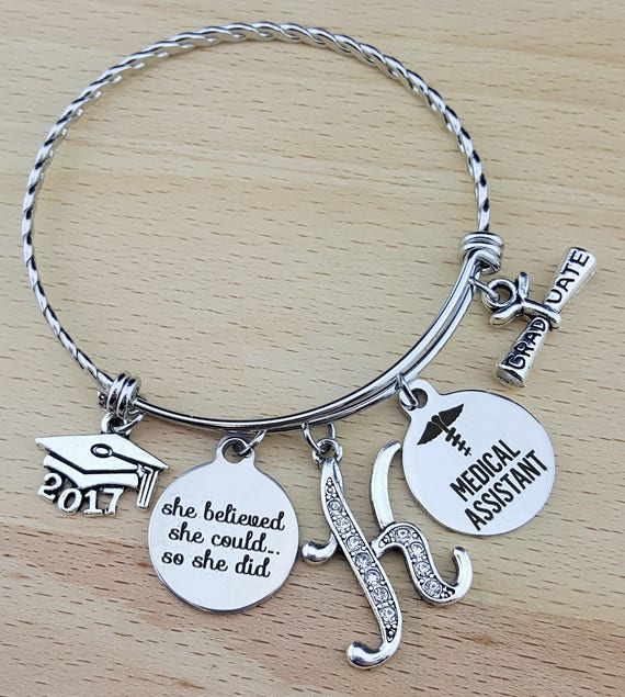 Medical Assistant Gifts Medical Assistant Graduation Gift Medical Assistant Bracelet Gift for Medical Assistant Gifts for Medical Assistant