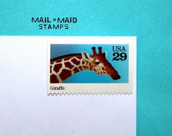 Giraffe || Set of 5 unused stamps