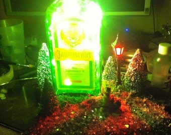 Lamp DIY Jagermeister christmas / Christmas