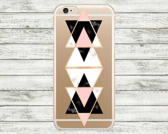 iPhone 7 case marble geometric iPhone 6 case, iPhone 7 Plus Case, iPhone 6 Plus Case, iPhone 5s /5 /SE Case.