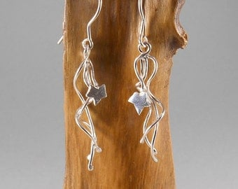 Ivy - sterling silver earrings