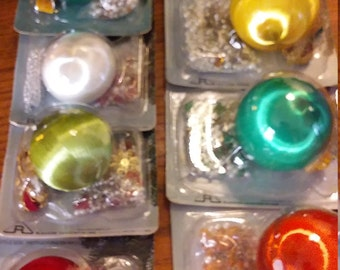 7 Brand New in Package Make Your Ornaments 1960s