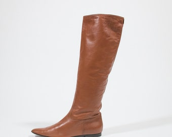 BOTTEGA VENETA - leather boots