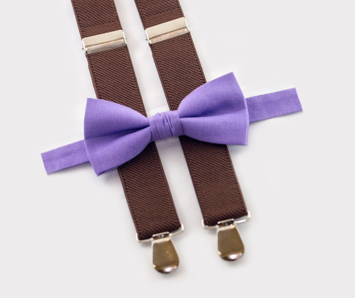 Boys Leather Suspenders And Navy Bow Tie, Boys Suits, Ring Bearer Outfit, Wedding Bow Tie, Baby Boy Bow Tie, Boys Clothes, Boys Suspenders $ $ $ (10% off)5/5(K).