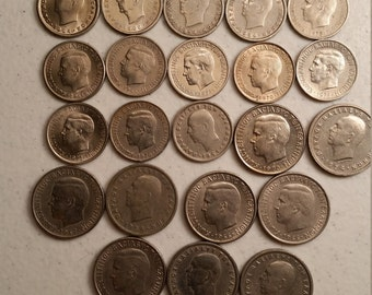 22 greece vintage coins 1954 - 1973  - coin lot drachmai - world foreign collector money numismatic a76