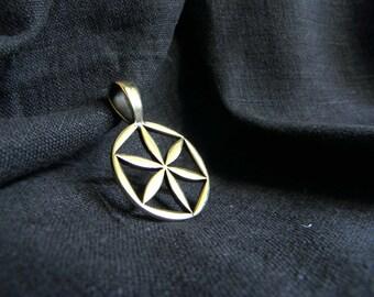 VALENTINE'S DAY GIFT Thunderous flower Perun. Slavic symbol. Perunika. Pagan