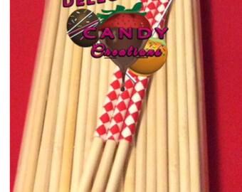 6.5 inch candy Apple sticks