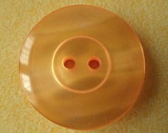 12 orange buttons 20mm (635) jacket buttons