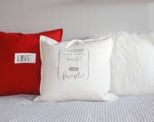 Pillow with love declarat...