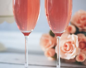 Custom Bridesmaid Champagne Flutes, Champagne Glasses, Bachelorette Champagne, Will You Be My Bridesmaid, Toasting Flutes, Wedding Party