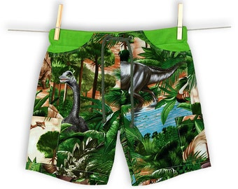 Unisex Dinosaur Pocket Shorts