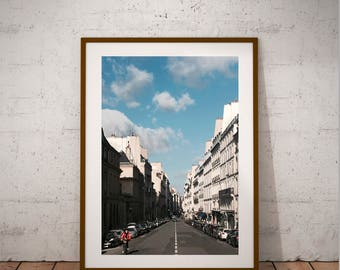 "Paris Photography, Odeon, Luxembourg, Quartier latin, Latin Quarter, Left Bank, Large Wall Art Print, 20 cm x 30 cm, 8"" x 12"""