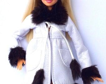 Barbie doll clothes - Barbie winter coat