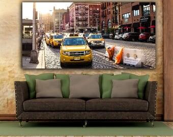 Hoboken, New York Taxi, Hoboken Nj, Hoboken Art, North Jersey, New York Taxi Cab, Weehawken, Lincoln Tunnel, Jersey City Heights, NJ Art