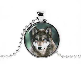 Wolf Necklace Pendant Wolf Jewelry Wolf Pendant Animals Wild Wolf