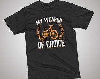 Bike Weapon of Choice T-Shirt