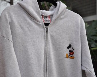 Mickey Mouse Zip Up Hoodie