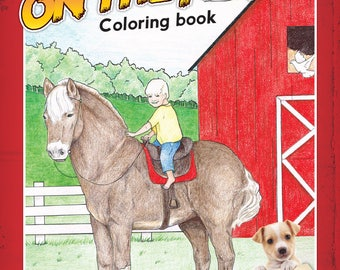Fun On The Farm Coloring Book