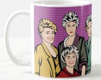 Golden Girls Best Friends Inspired Coffee Mug Gift