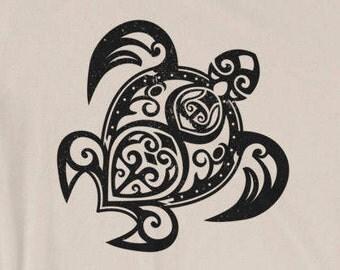 Turtle T-shirt design | Tatoo shirt | Turtle