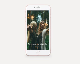 snapchat bachelorette geofilter, instant geofilter, geofilter instant download, team bride geofilter, bachelorette party geofilter