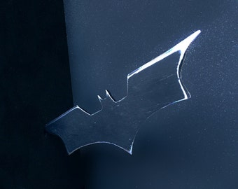 Dark Knight Style 100% METAL Batarang Replica (Batman)