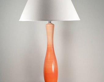 Lamp for her, Bedroom lighting ideas, Uncommon lamps, Table lamps, Simple lamps, coral lamp