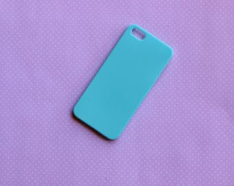 1pc Blue iphone 5/5s Blank Phone case for decoden FREE SHIPPING on orders over 10 dollars!