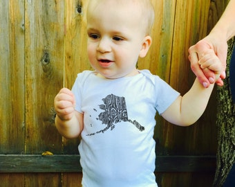 Ingrained Alaska Baby Bodysuit