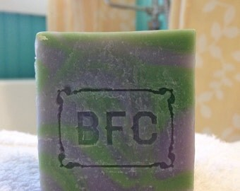 Morpheus - Handcrafted, Natural Artisanal Soap (Rosemary & Lavender Soap, Cold Process Soap, Sleep Soap, Natural Soap, Handcrafted Soap)