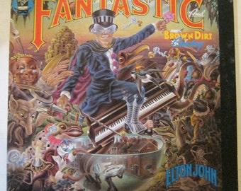 Record Album - Elton John - Captain Fantastic from 1975