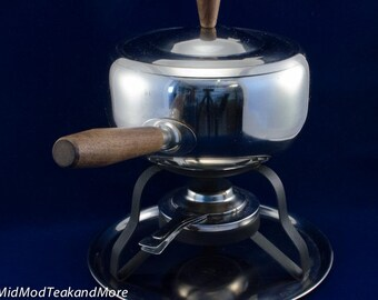 Stainless Steel Fondue Pot Made in Japan
