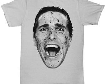 American Psycho Patrick Bateman Christian Bale Classic Movie  shirt Tee T-shirt  S - 5XL 9 Colours