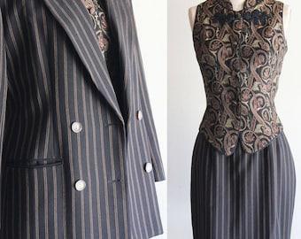 Vintage JonesNY Careerwear Womens Business Suit/Blazer/Pencil Skirt  Size 6