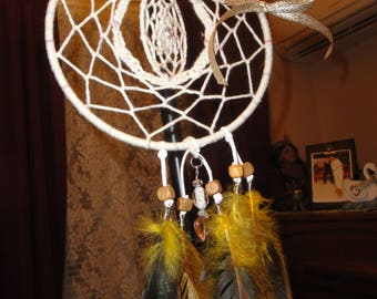 Whimsical Windcatcher/ dreamcatcher