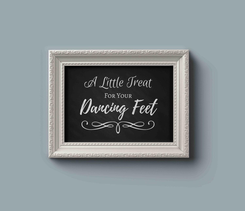 68141861b472ba Wedding dancing shoes sign Dancing Shoes wedding signs Wedding flip flops  for wedding guests Chalkboard Wedding