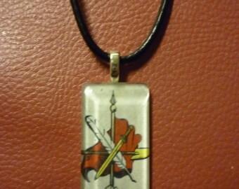 Armenian  zinanshan pendant.