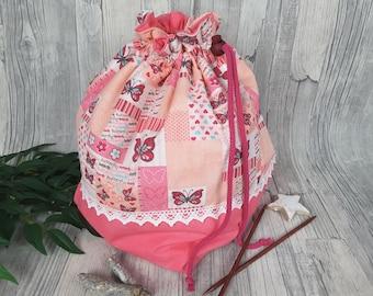Knitting bag / spider bag (large) - 3.
